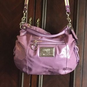 COACH POPPY Purple Jazzy Hobo C1069-15790